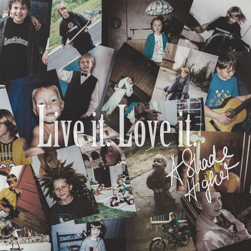 A Shade Higher - Live it -Love it - EP - 2015