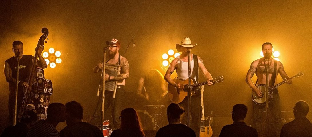 Cowboy Bob and Trailer Trash - Country - Bluetrash - Bluegrass