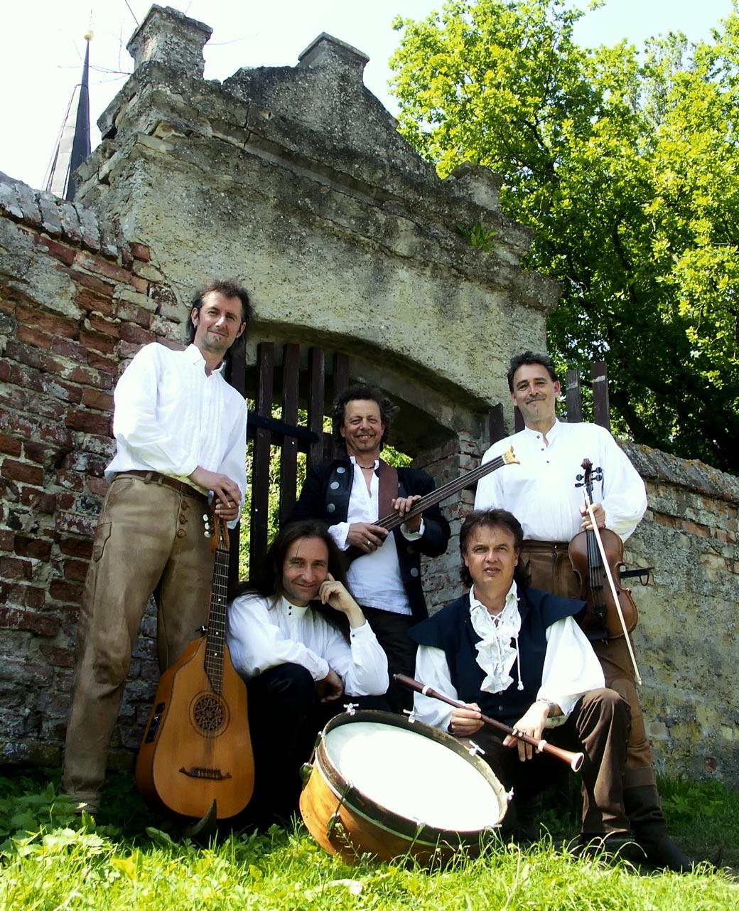 Gruppe Horch - Renaissance-Folkrock - Barock'n'Roll - Pop Art des Mittelalters