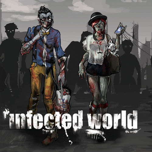 Infected World - Infected World - Single - 2016